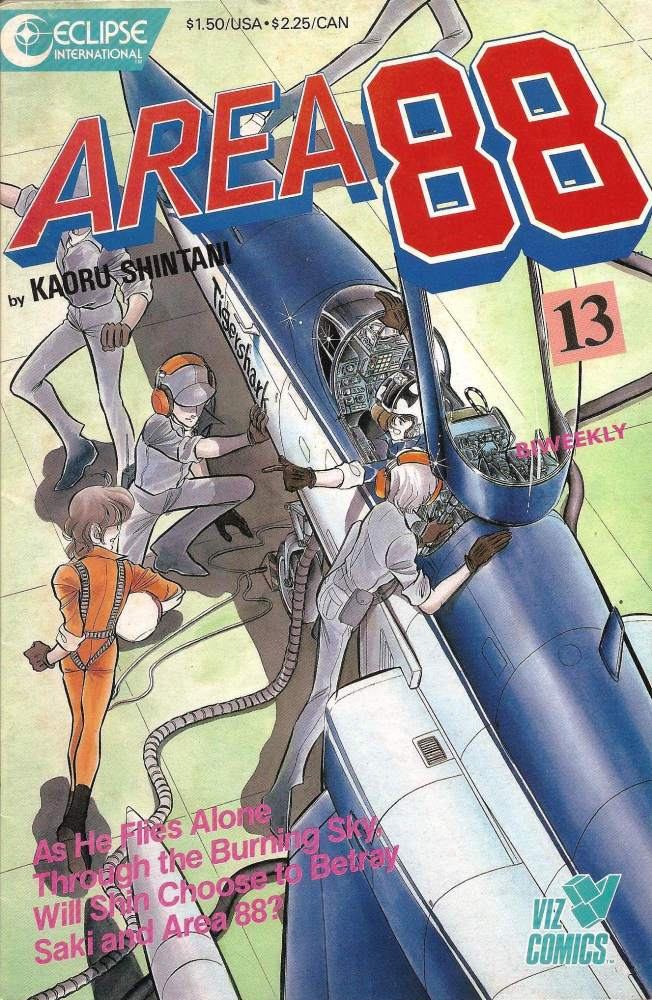 Area 88 - Issue 13 - Eclipse International Comics