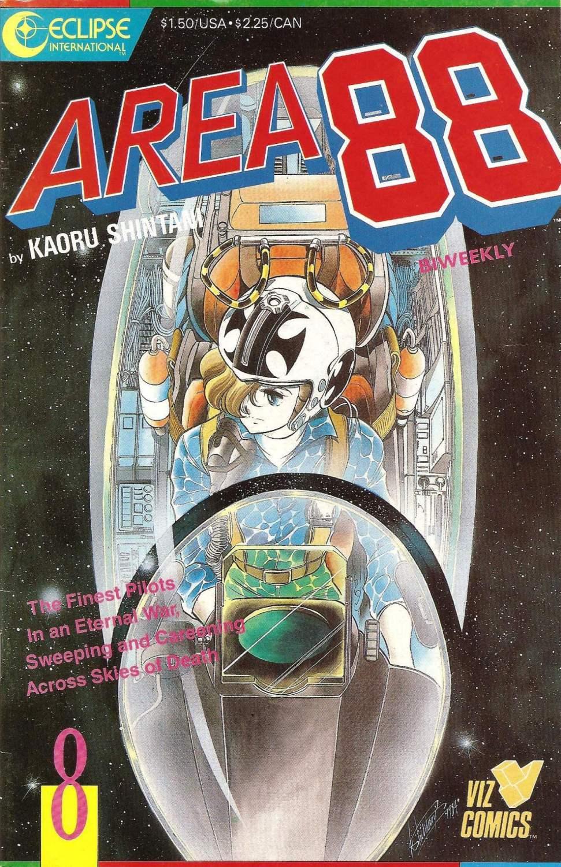 Area 88 - Issue 8 - Eclipse International Comics