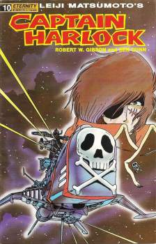 Captain Harlock - Leiji Matsumoto - Issue 10 - Eternity Comics