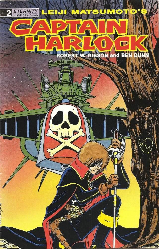 Captain Harlock - Leiji Matsumoto - Issue 2 - Eternity Comics