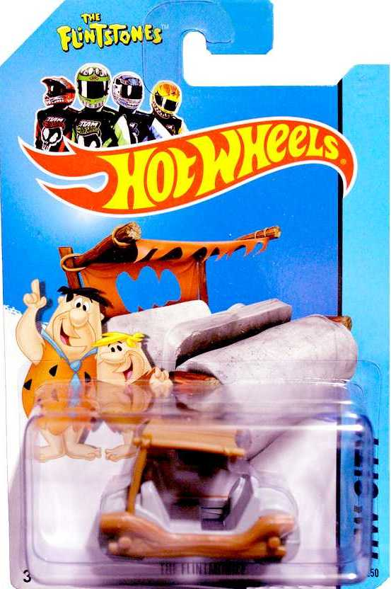 Hot Wheels - The Flintstones - Flintmobile - 2014 Version - NEW