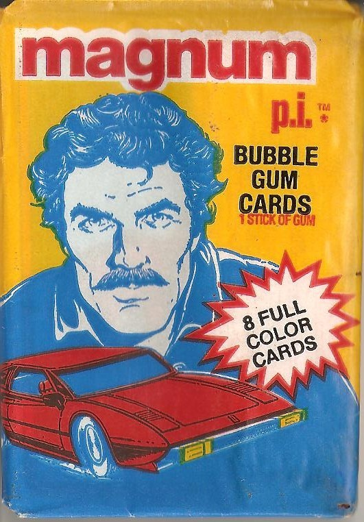 Magnum P.I. Bubble Gum Cards - NEW