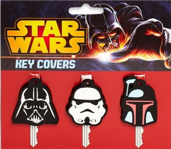 Star Wars - Key Covers - Darth Vader, Stormtrooper And Boba Fett - NEW