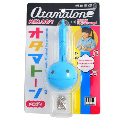 Otamatone Melody - Electronic Musical Instrument - Blue - NEW