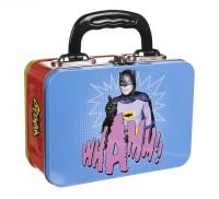 Batman And Robin - Retro-Style Tin Tote Lunch Box - NEW
