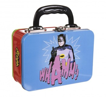 Batman And Robin - Retro-Style Tin Tote Lunch Box - NEW