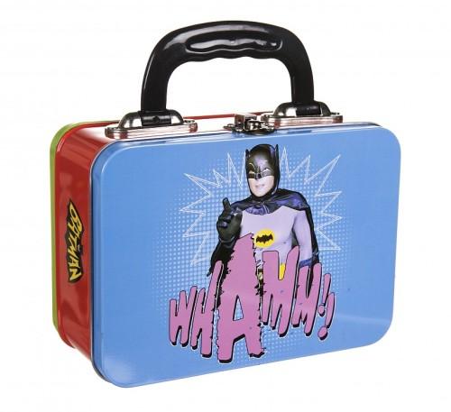 - Batman And Robin - Retro-Style Tin Tote Lunch Box - NEW