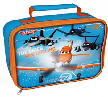 Planes - Soft Plastic Lunch Bag - Disney - NEW