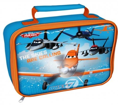 - Planes - Pixar - Soft Plastic Lunch Bag - NEW