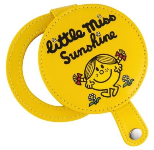 Little Miss Sunshine Compact Mirror - Yellow - NEW