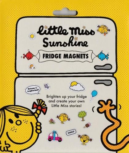 Little Miss Sunshine Fridge Magnets - Yellow - NEW