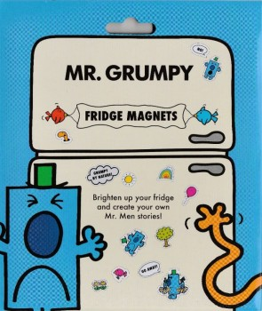 Mr Men - Mr Grumpy Fridge Magnets - NEW