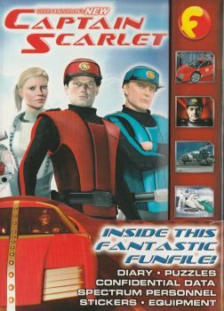 New Captain Scarlet - Fantastic Funfile - RARE - NEW
