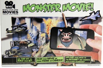 Make Your Own Movies - Monster Movie Making Kit - NEW