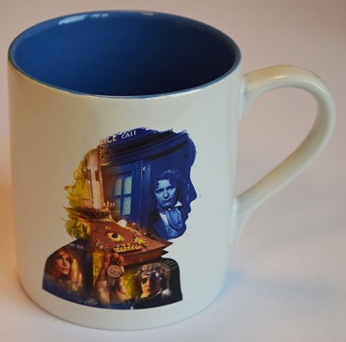- Doctor Who - Eighth Doctor Anniversary Cup / Mug - NEW