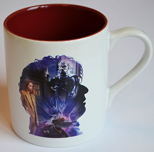 - Doctor Who - Fourth Doctor Anniversary Cup / Mug - NEW