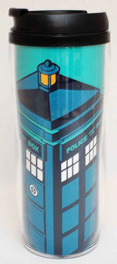 - Doctor Who - TARDIS Travel Mug - NEW