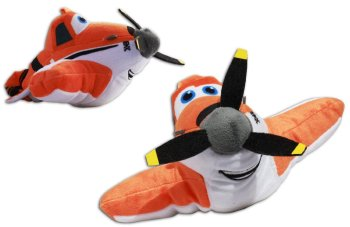 "Planes - Dusty Crophopper 8"" Plush Soft Toy - Disney - NEW"