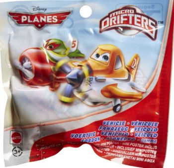 Planes - Micro Drifters Blind Bag - Disney - NEW