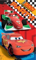 Cars - Invitations - Set Of 8 - Pixar - NEW