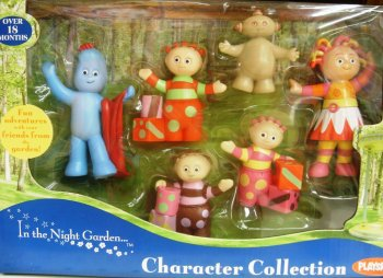 In The Night Garden - Character Collection - 6 Figure Set - RARE - NEW