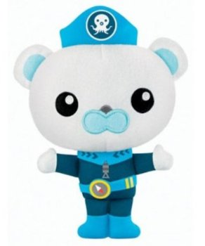 Octonauts - Barnacles Plush Soft Toy - Fisher Price - 2012 - NEW