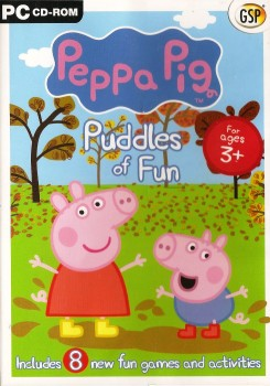 Peppa Pig : Puddles Of Fun - 8 Games And Activities - 2008