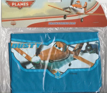 Planes - Swimming / PE Kit Drawstring Bag - Disney - NEW