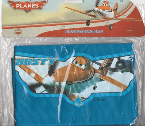 Planes - Swimming / PE Kit Drawstring Bag - Pixar - NEW