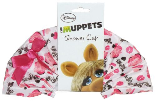 - The Muppets - Shower Cap - Miss Piggy - NEW
