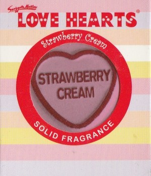 Swizzels Matlow - Love Hearts Solid Fragrance - Strawberry Cream - NEW