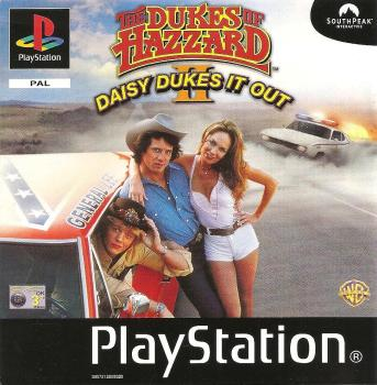 The Dukes Of Hazzard II : Daisy Dukes It Out - PS1 - Playstation 1 - Ubisoft