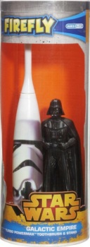 Star Wars - Turbo Powermax Toothbrush And Stand - Darth Vader And Stormtrooper - NEW