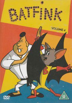 Batfink : Volume 4 - (15 Episodes) - DVD - RARE