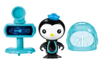 Octonauts - Peso's X-Ray Viewer Figure Set - Fisher Price - 2013 - NEW