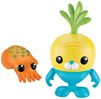 Octonauts - Tunip And The Cuttlefish Figure Set - Fisher Price - 2012 - NEW