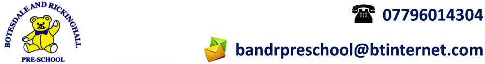 Botesdale Pre-School, site logo.