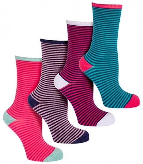Women's Stripey Luxury Bamboo socks