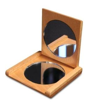 Beechwood Pocket Mirror