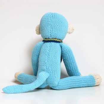 blue spider monkey toy