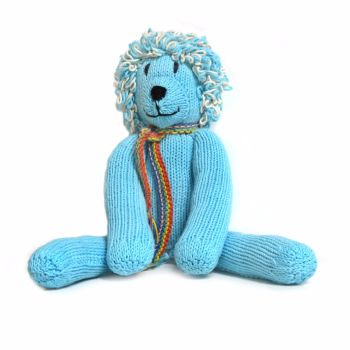 Blue Fairtrade Rainbow Lion