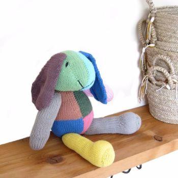 harlequin_bunny_on shelf