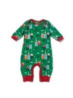 LGR Magic Sandcastles Playsuit (Babygrow)