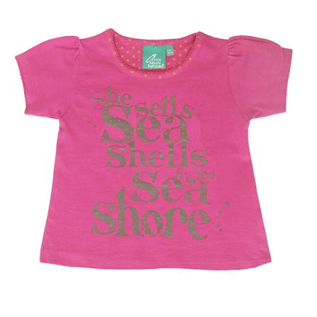 She Sells Sea Shells top