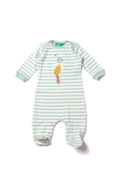 Paradise Bird playsuit/babygrow