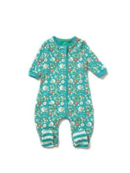 Into the Shallows playsuit/babygrow