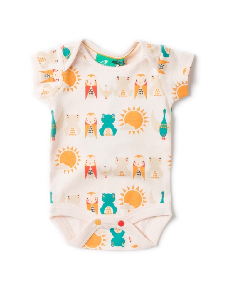Little Green Radicals River Friends Baby Body