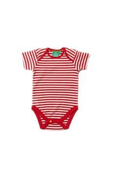 LGR Red stripe babybody