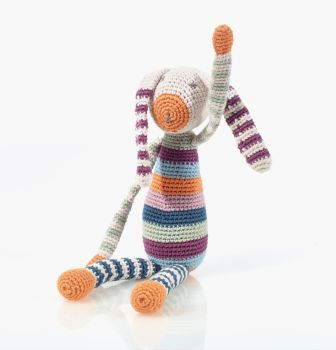Fair Trade Organic Cotton Bunny Rattle