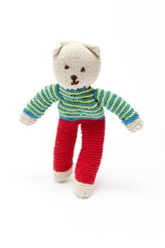 Fair Trade Crochet Cotton Teddy Bear, Harry Flipp